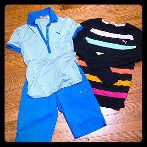 PUMA Golf outfit
